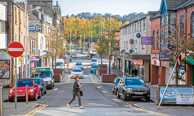 Its alleged the accused was in possession of etizolam in Lochee High Street. (Stock image).