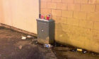 Residents have complained about the mess caused by revellers