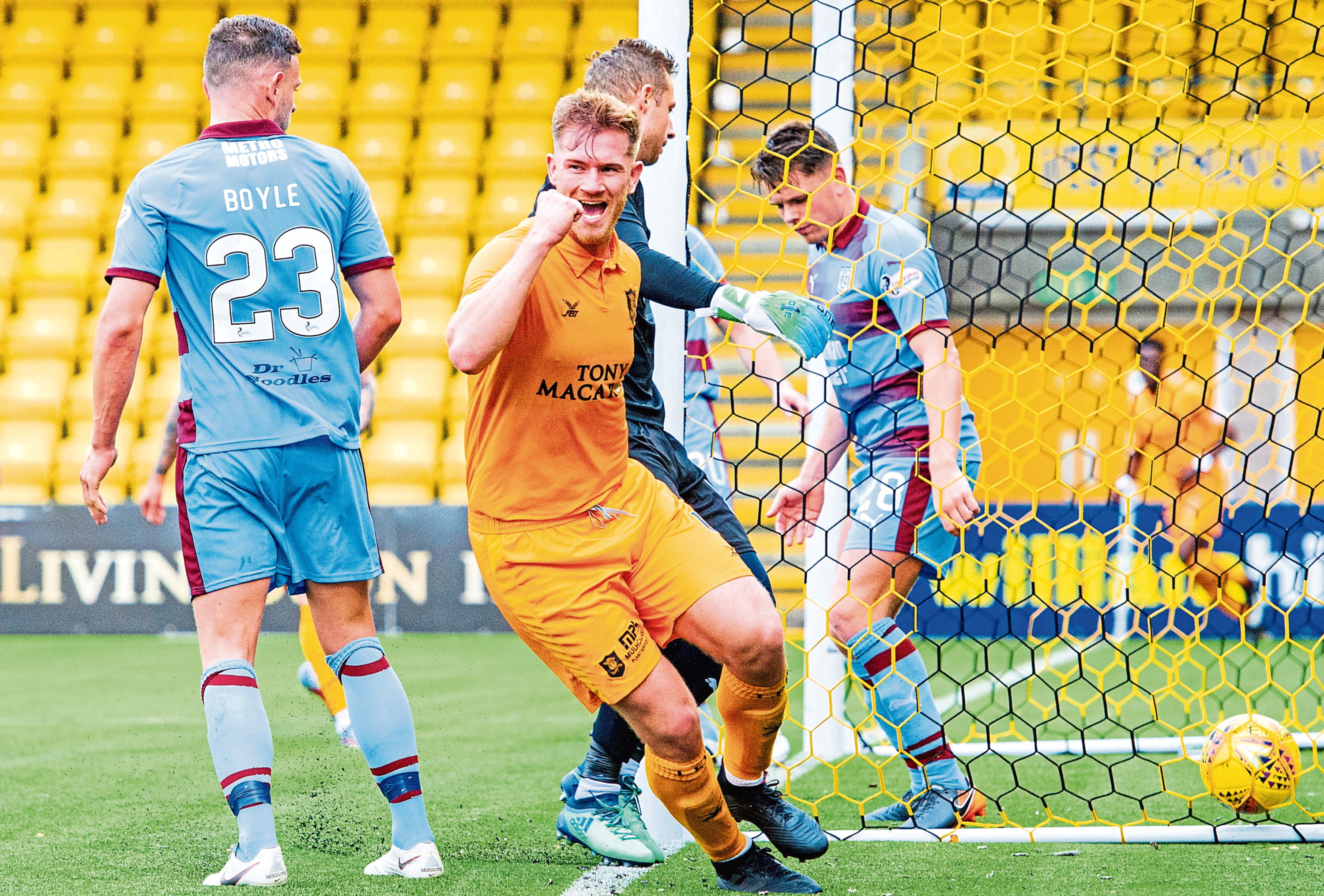 Dundee had a torrid time of it at Livingston back in October, going down 4-0 at the Tony Macaroni Arena