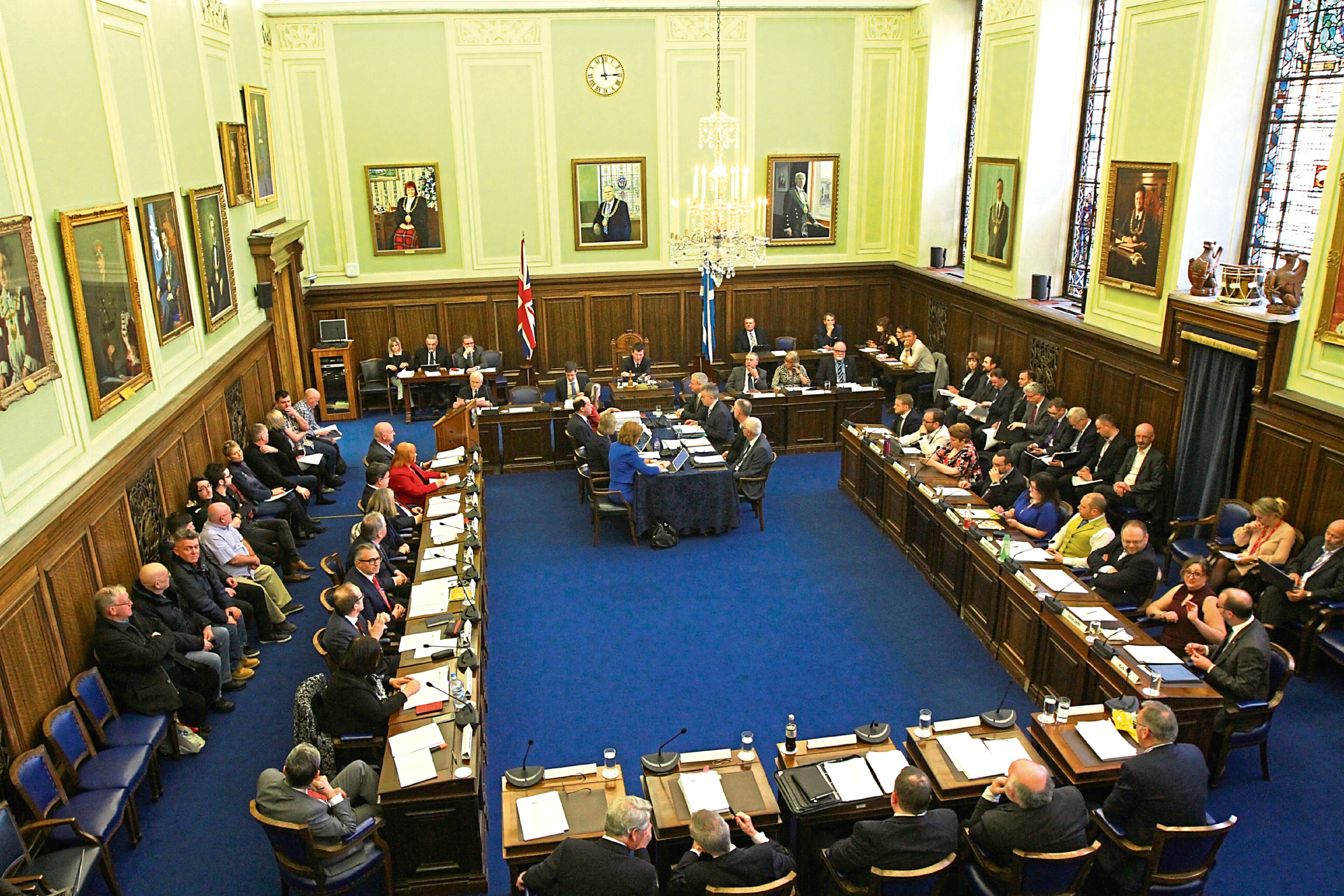 The meeting will take place today in City Chambers