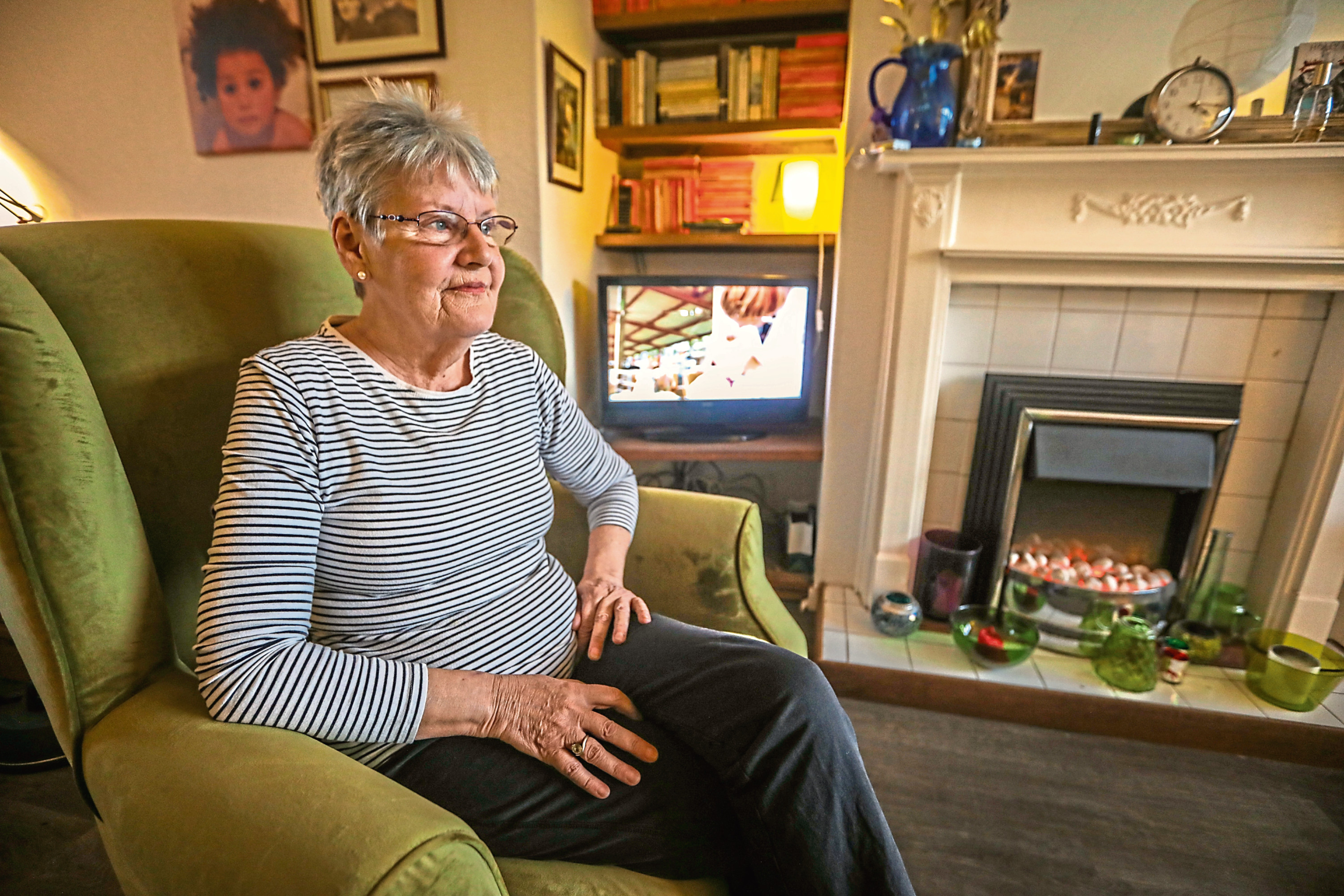 Dorothy McHugh, the secretary of Dundee Pensioners Forum, warned that just under half of city pensioners don't have internet access
