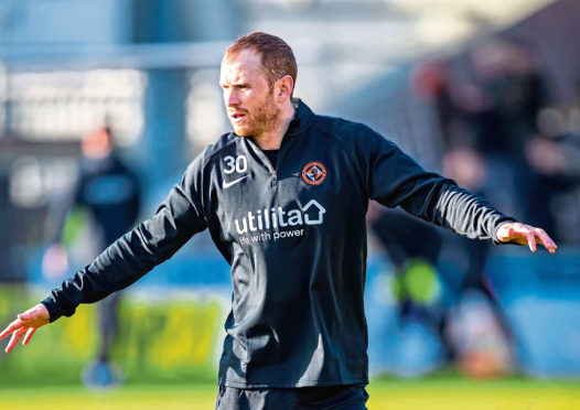 Mark Reynolds of Dundee United will miss this Saturdays tie, having suffered a cruciate ligament injury pre-season