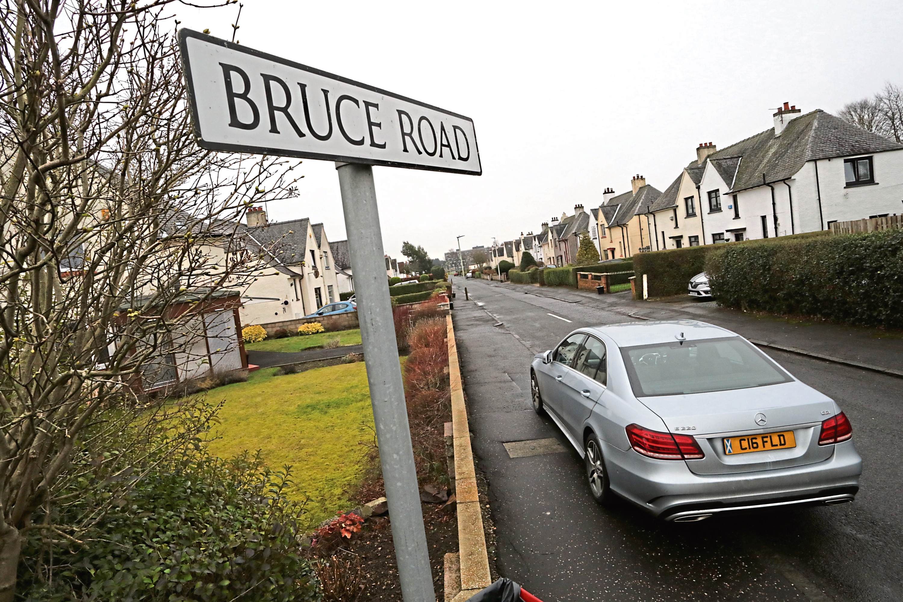 The break-ins took place in the city's Bruce Road