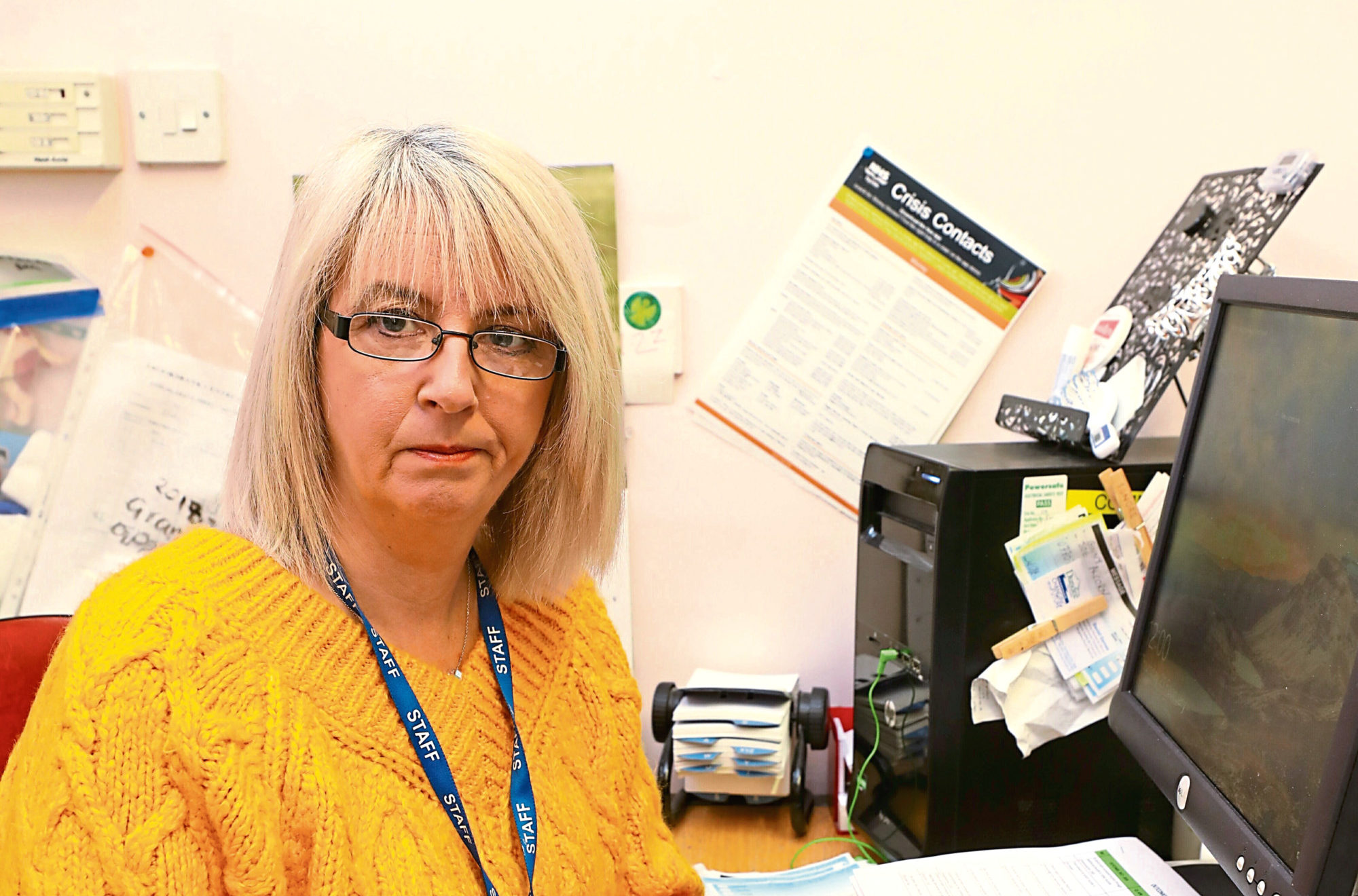 Ginny Lawson, manager of the Brooksbank Centre