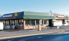 The McDonald's beside Camperdown Park