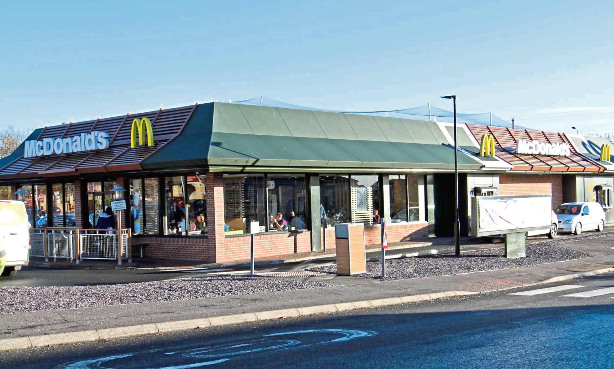 McDonald's, Camperdown Leisure Park.