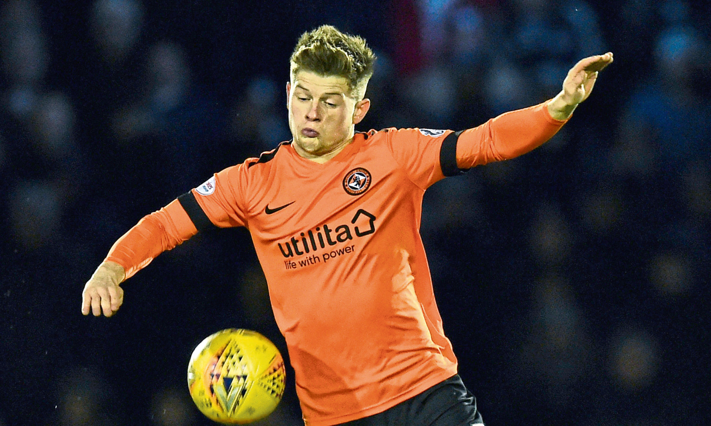 Cammy Smith has left Tannadice.
