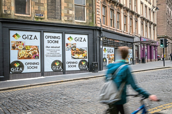 The former KFC store in Dundee's High Street opened as Giza - but the eatery was short-lived.