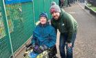 Tam Glen with son Thomas