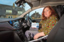 Melanie Forrest had been  incorrectly fined for parking in the Costa car park