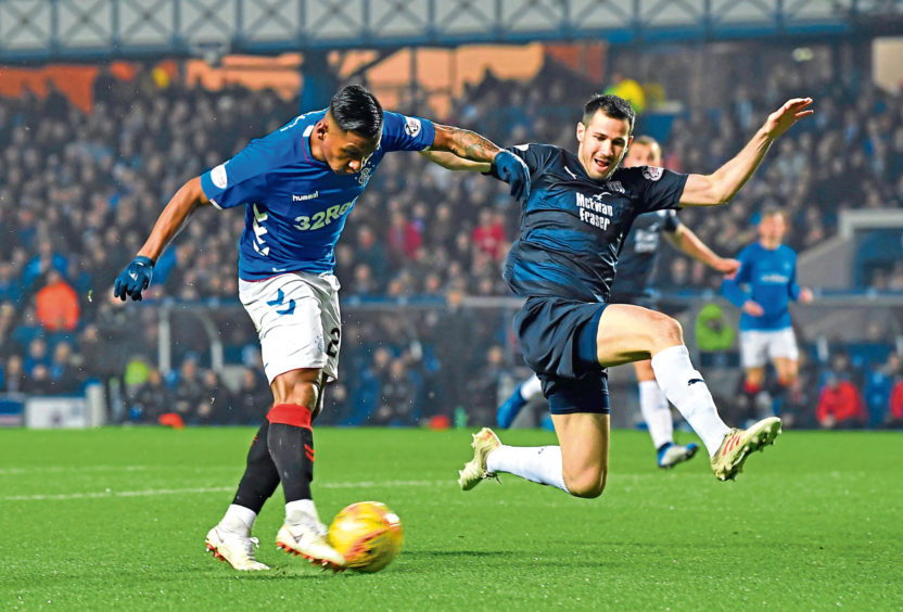 Alfredo Morelos has been Rangers' best player