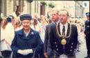The Queen and Mervyn Rolfe