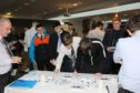 The jobs event at the Apex Hotel