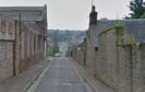 Gray Street, Lochee (stock image)