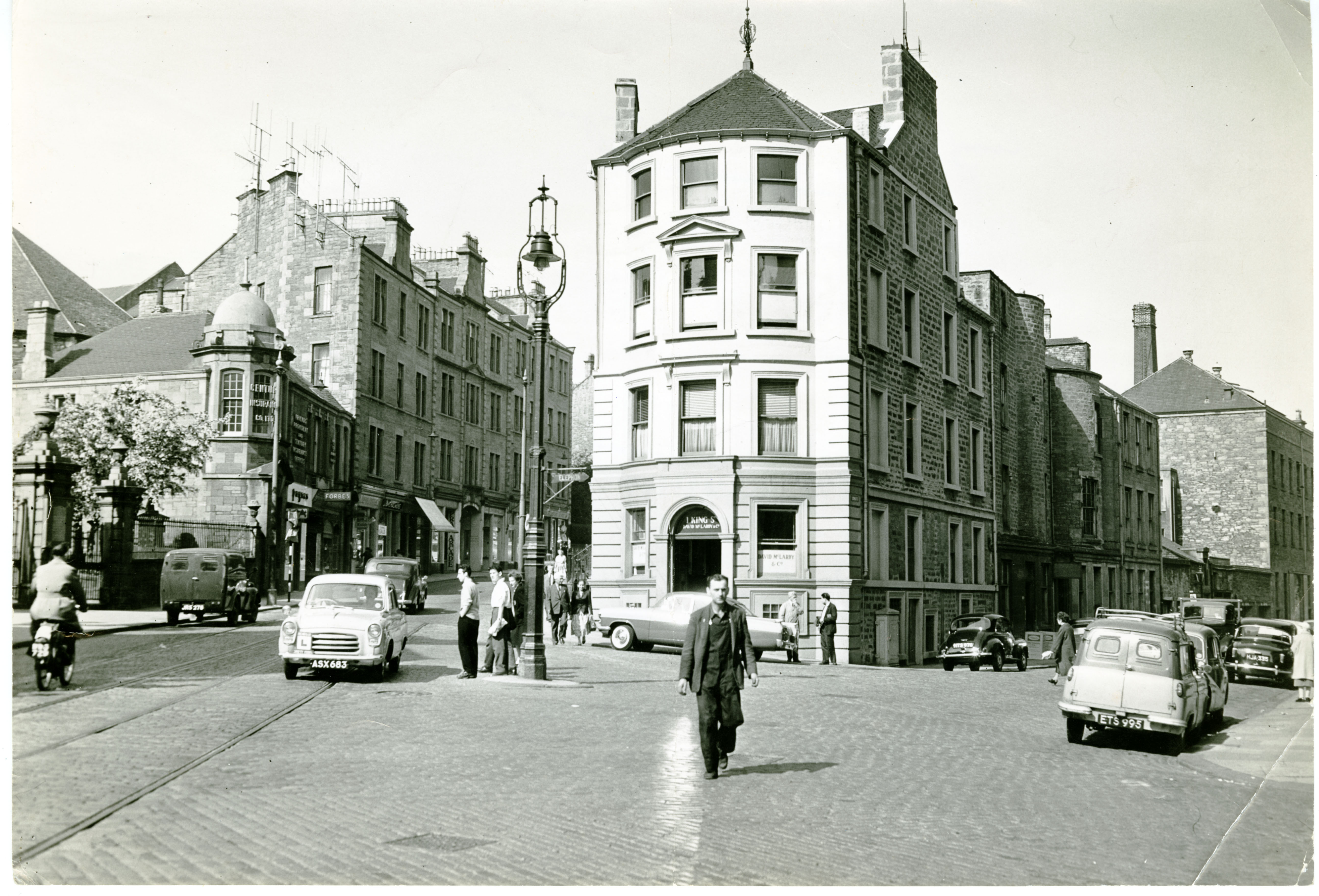 The view of King Street and Cowgate, taken from 1960