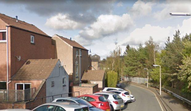 Ladywell Avenue' Dundee (stock image)