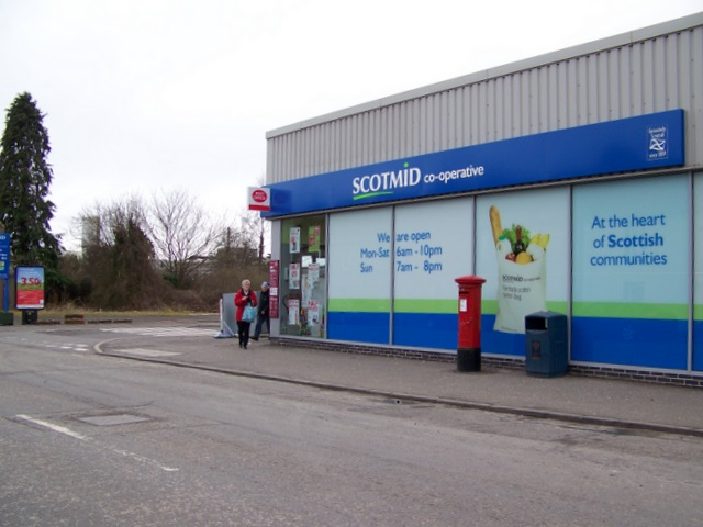 Scotmid in Coupar Angus (stock image)