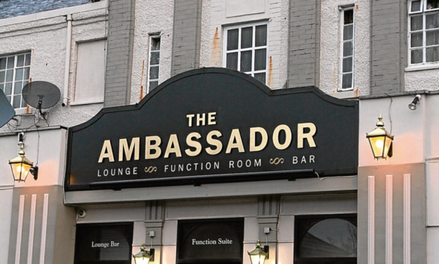 The Ambassador Bar in Clepington Road, where the event takes place