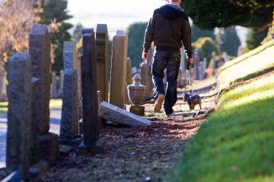 Balgay Cemetery (stock image).