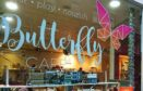 Butterfly Cafe, Dundee (stock image)