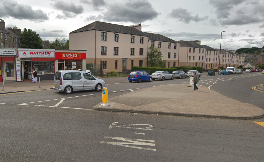It's alleged the offence took place in a butcher's shop on Caird Avenue