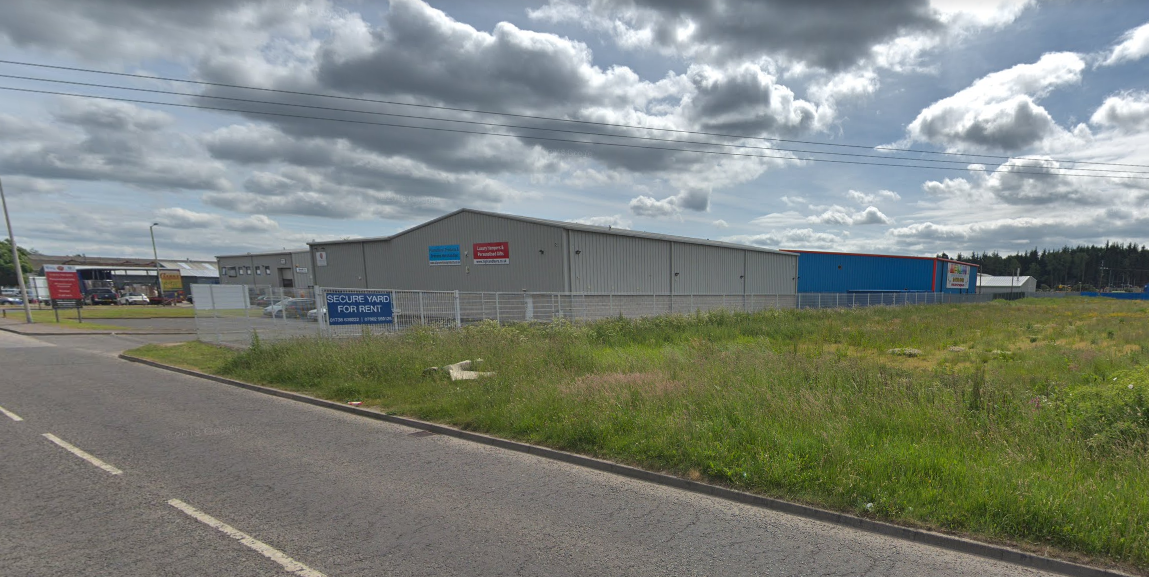 The theft took place at a car park in the Inveralmond Industrial Estate