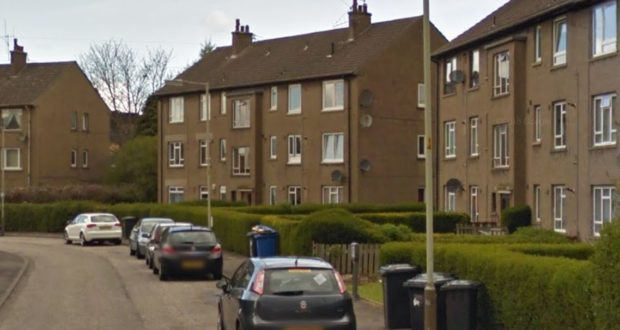 The offence is alleged to have taken place at an address in Kemnay Gardens