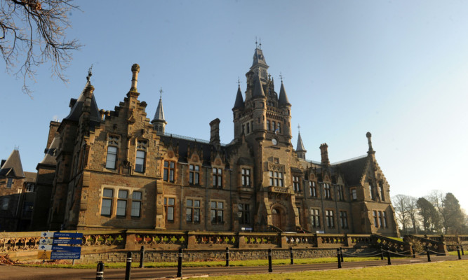 Morgan Academy is one of the best-known buildings in Stobswell