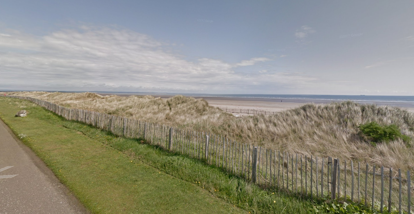 West Sands Beach is one area the material has been reported as having washed up