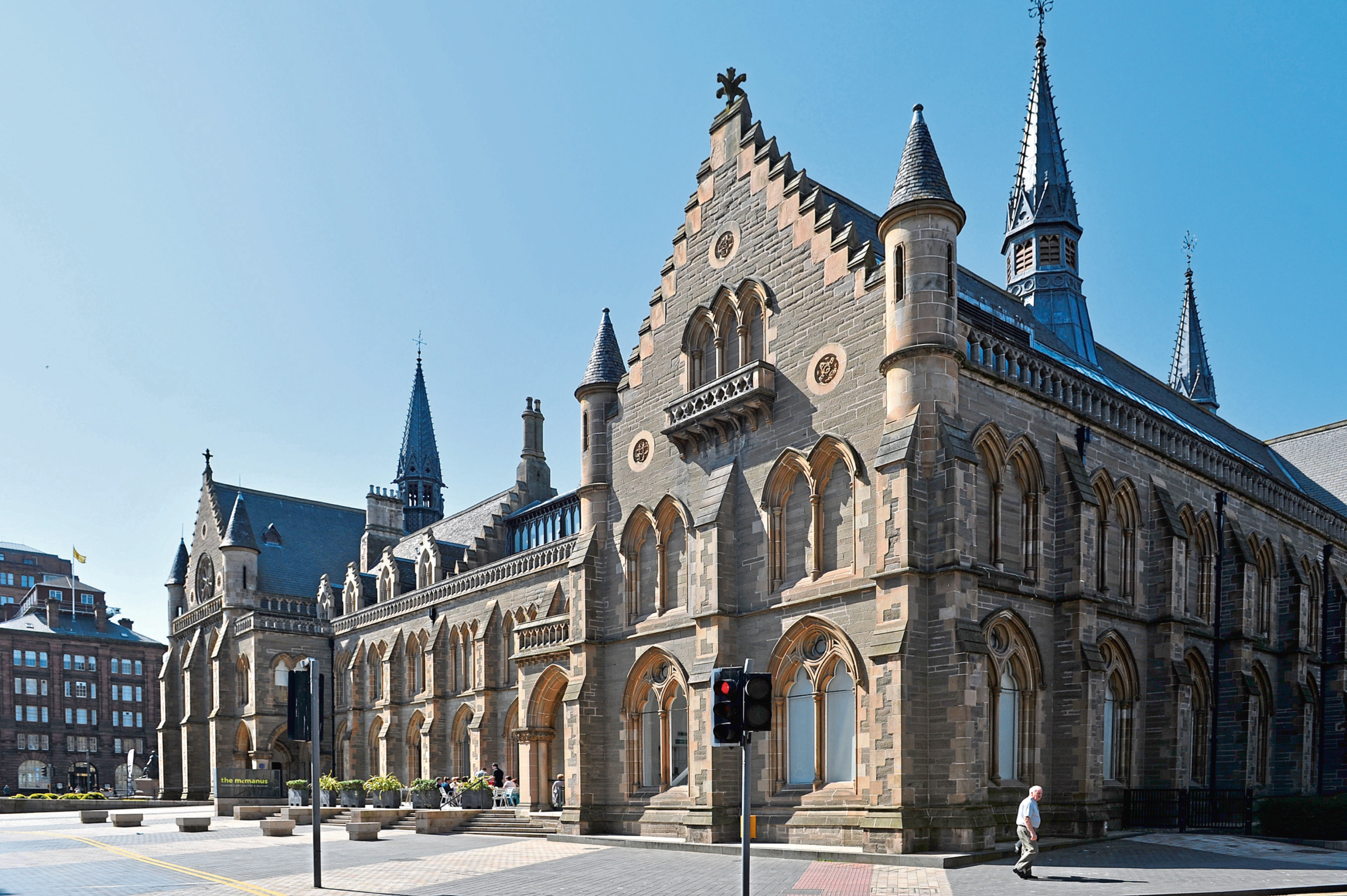 The McManus Gallery is one of the facilities Leisure and Culture Dundee operates.