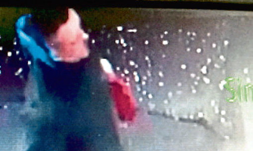 John Forbes was caught on CCTV