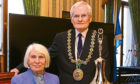 Norma with Lord Provost Ian Borthwick