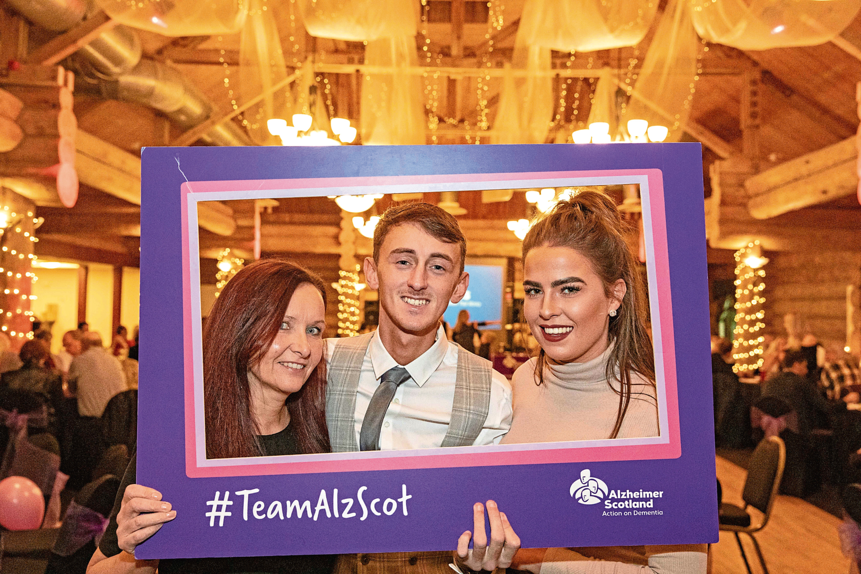 Angie Fairweather, Daniel and Beth Jowett at the event
