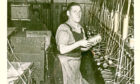 A picture of an unknown Dundee Jute worker