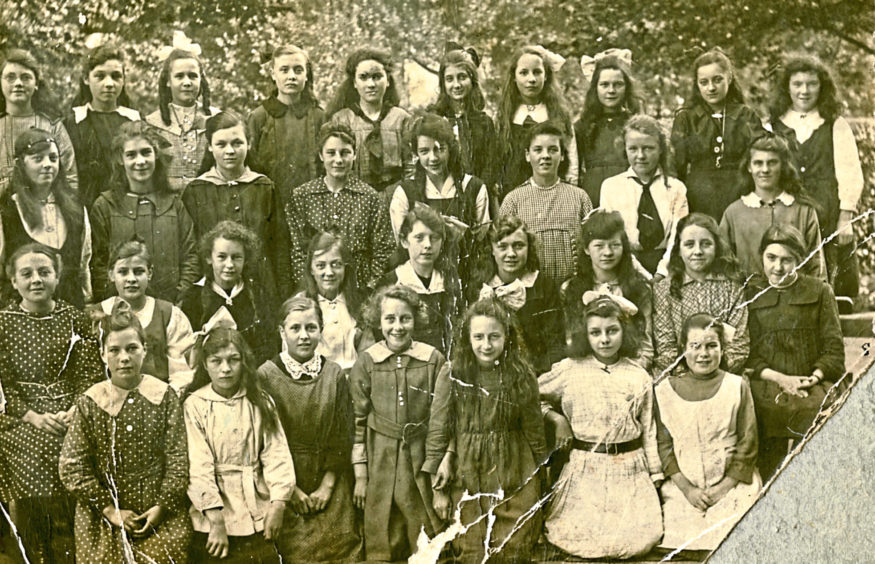Stobswell School in 1919