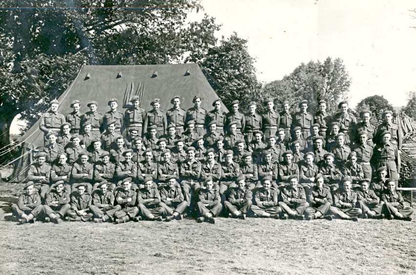 A picture of soldiers from 1944