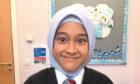 Nadhrah Abdulmuiz from Victoria Park Primary School