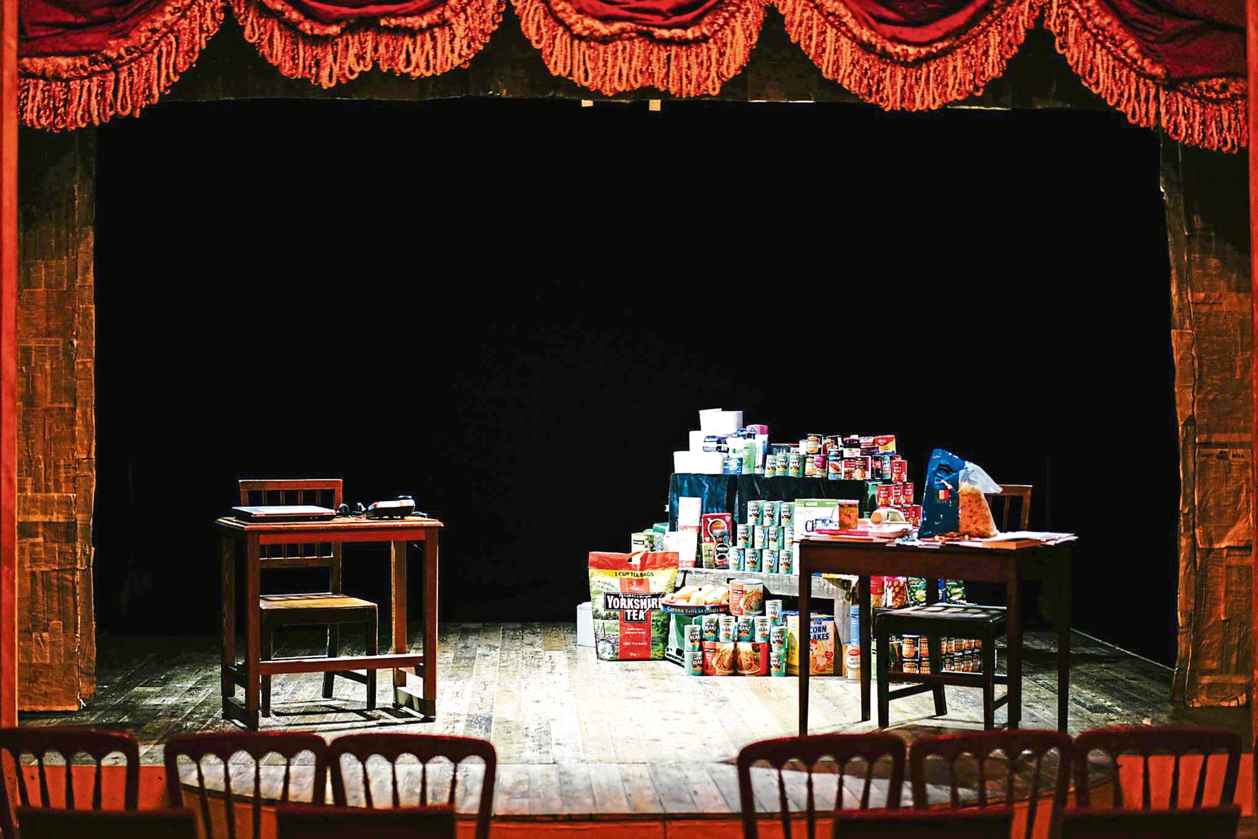 The stage is set for Food Bank As It Is