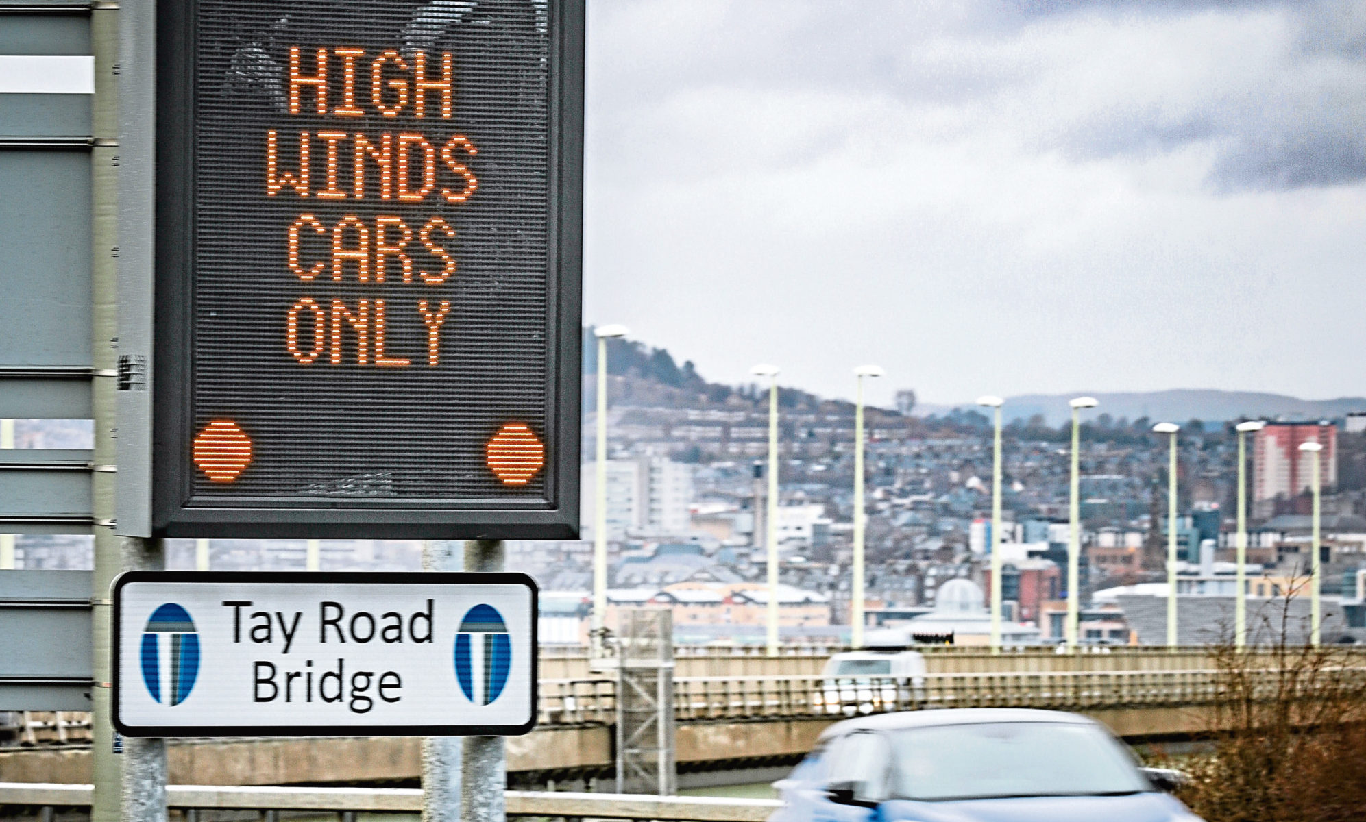 High Winds could limit traffic allowed on the Tay Road Bridge