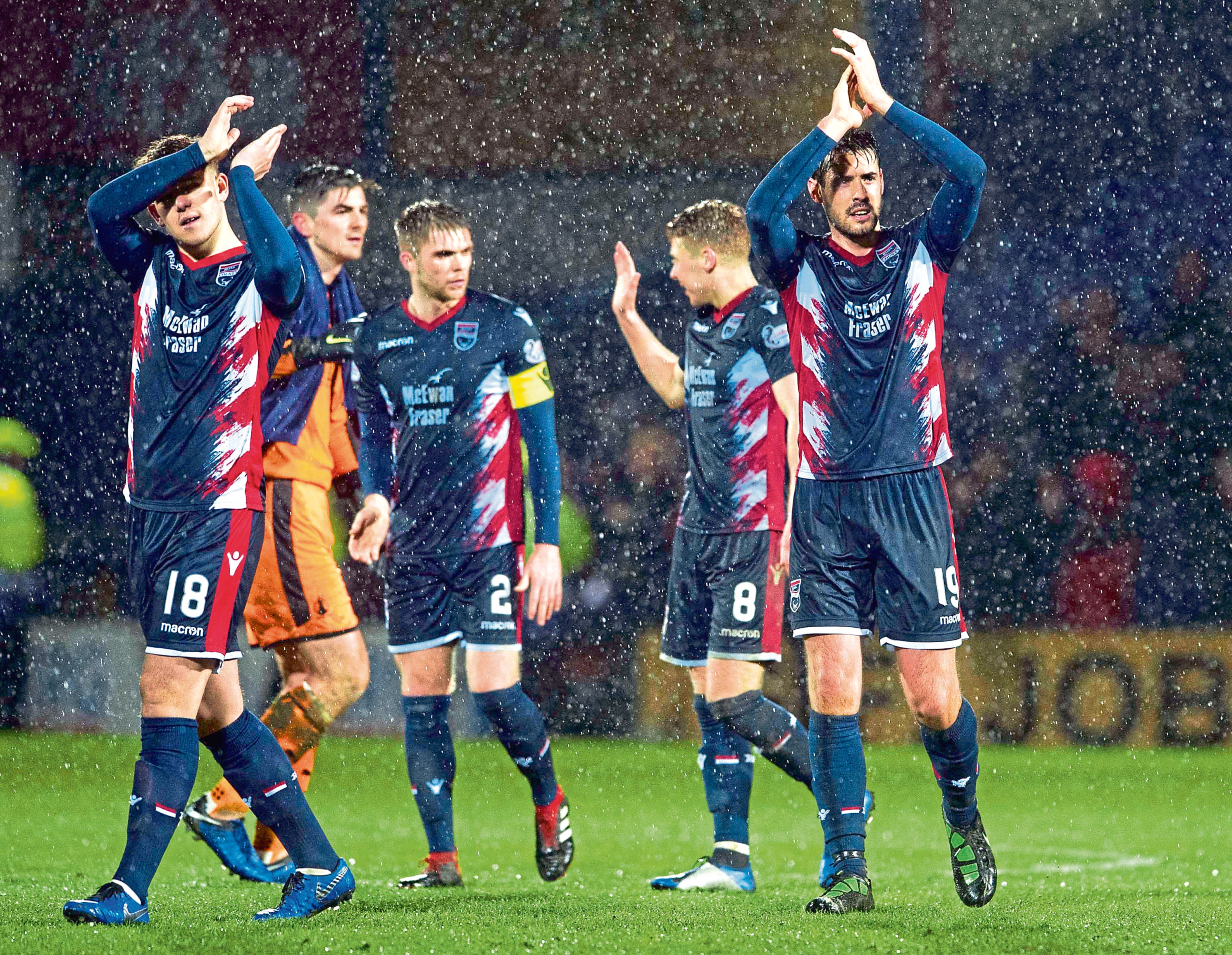Ross County are 11 points clear at the top of the Championship.