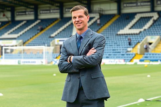 Dundee chairman Tim Keyes.
