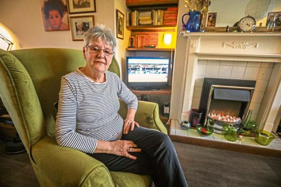 Dorothy McHugh, the secretary of Dundee Pensioner's Forum.