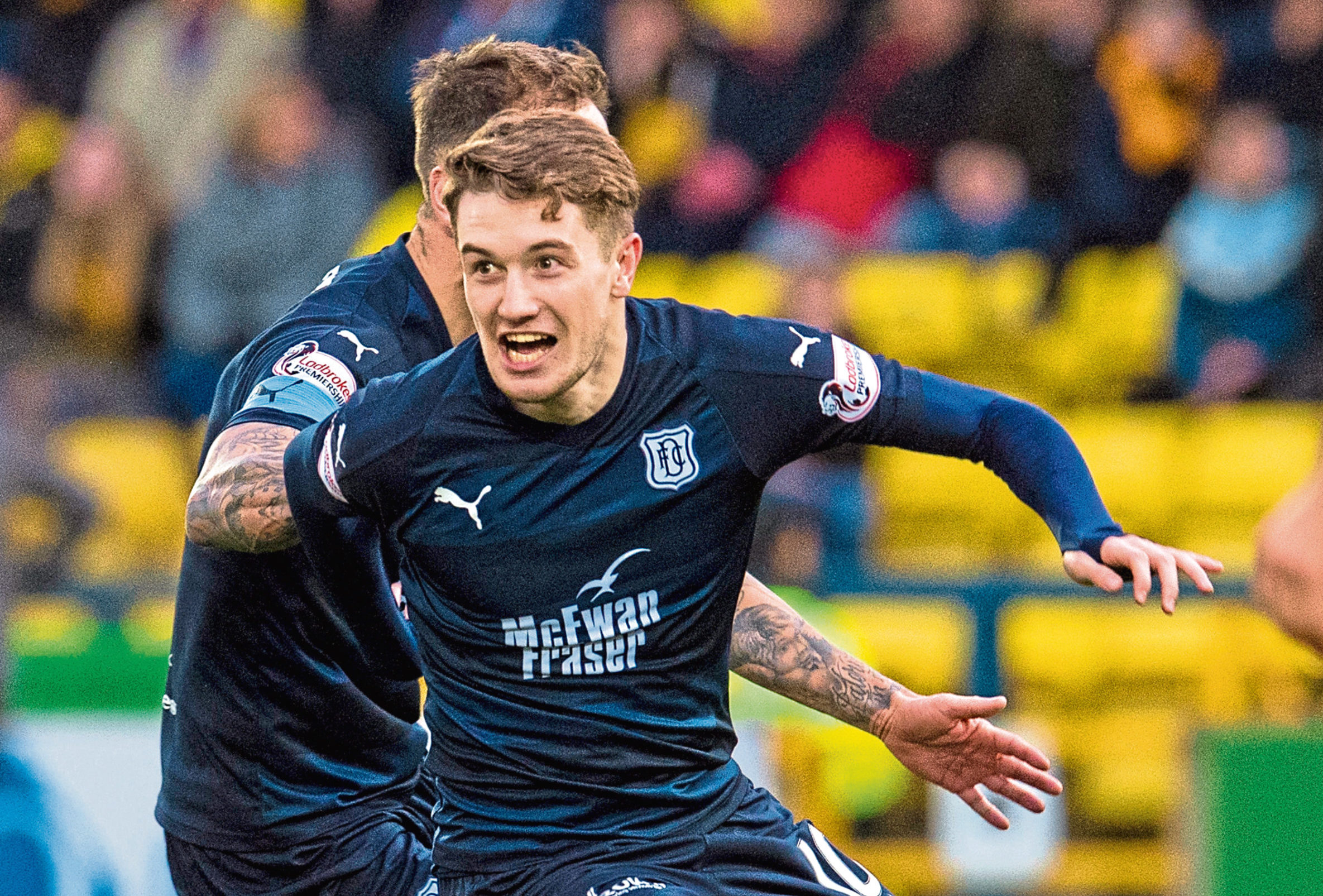 Scott Wright during his time at Dens.