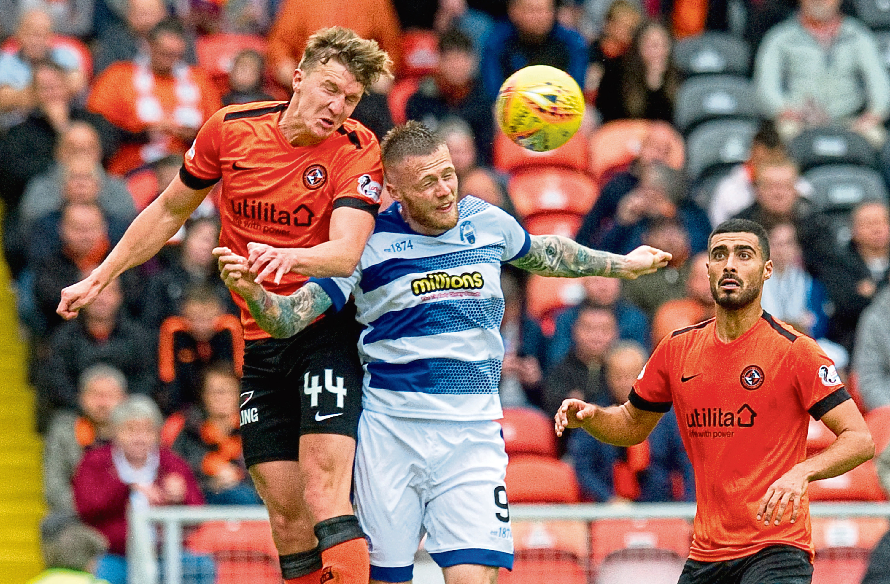 Dundee United defender Paul Watson is looking for the Terrors to go on a winning run and block out all around them.