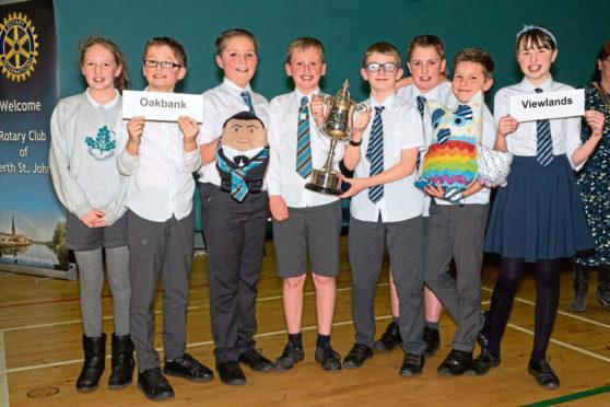 Rotary primary school quiz Perth winners.