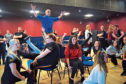 Downfield Musical Society rehearsals