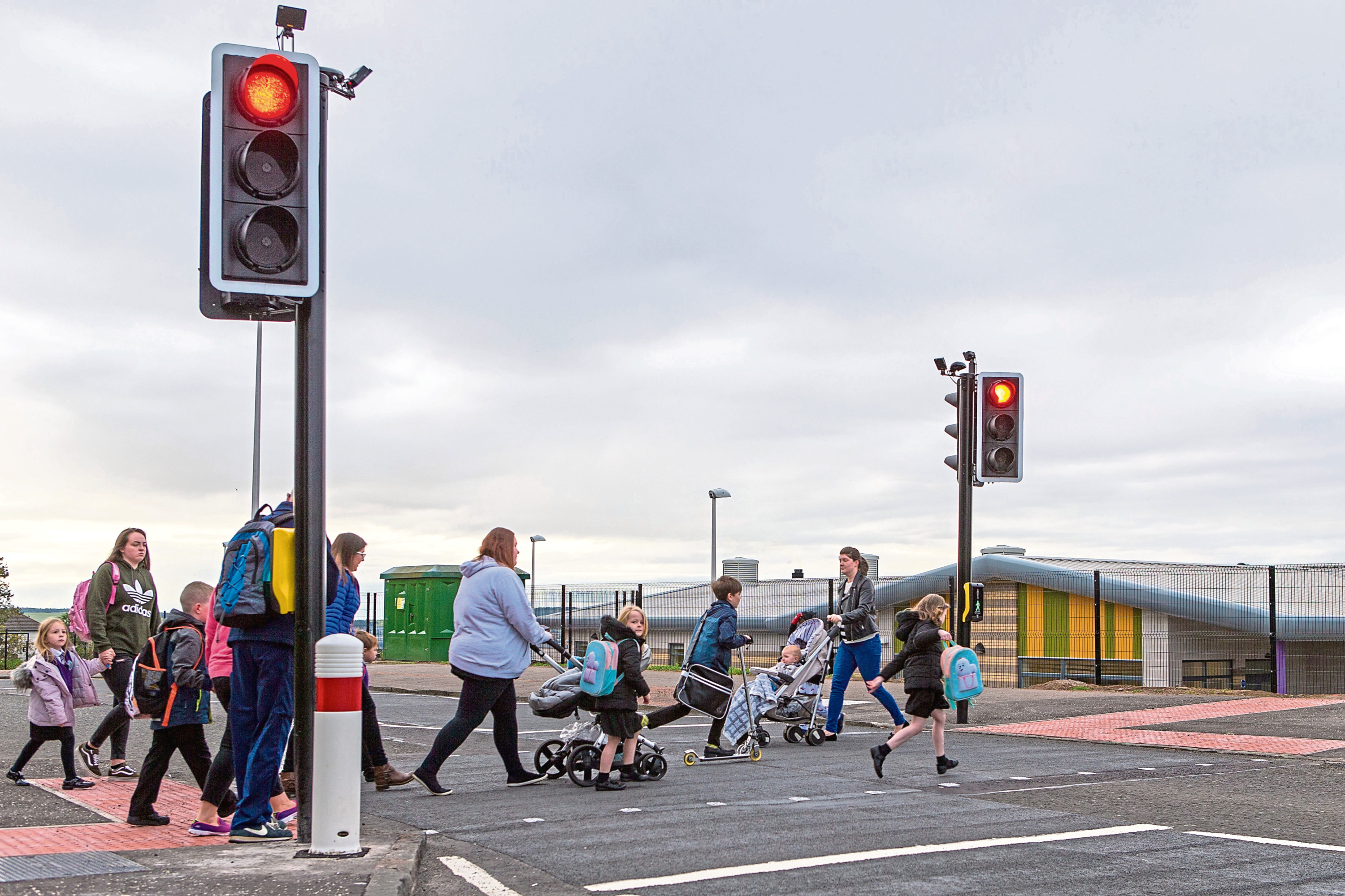 Tayview parents have said they have had long-standing concerns about traffic