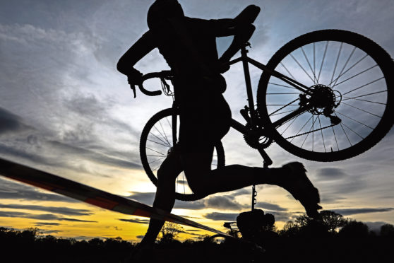 It's hoped cyclocross events will come to Dundee in the future.