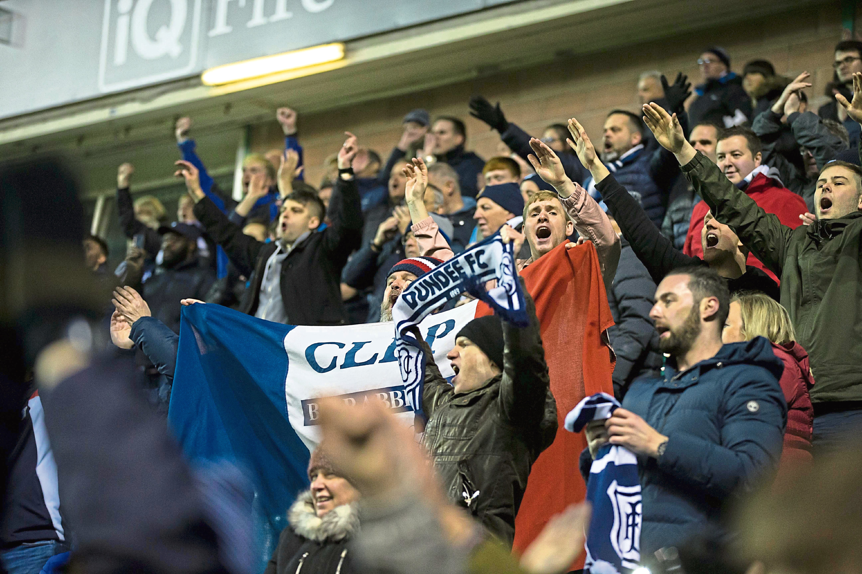 Dundee fans will be out in force this weekend.