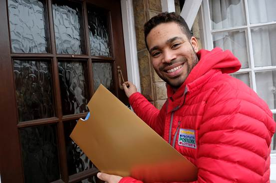 People's Postcode Lottery ambassador Danyl Johnson.